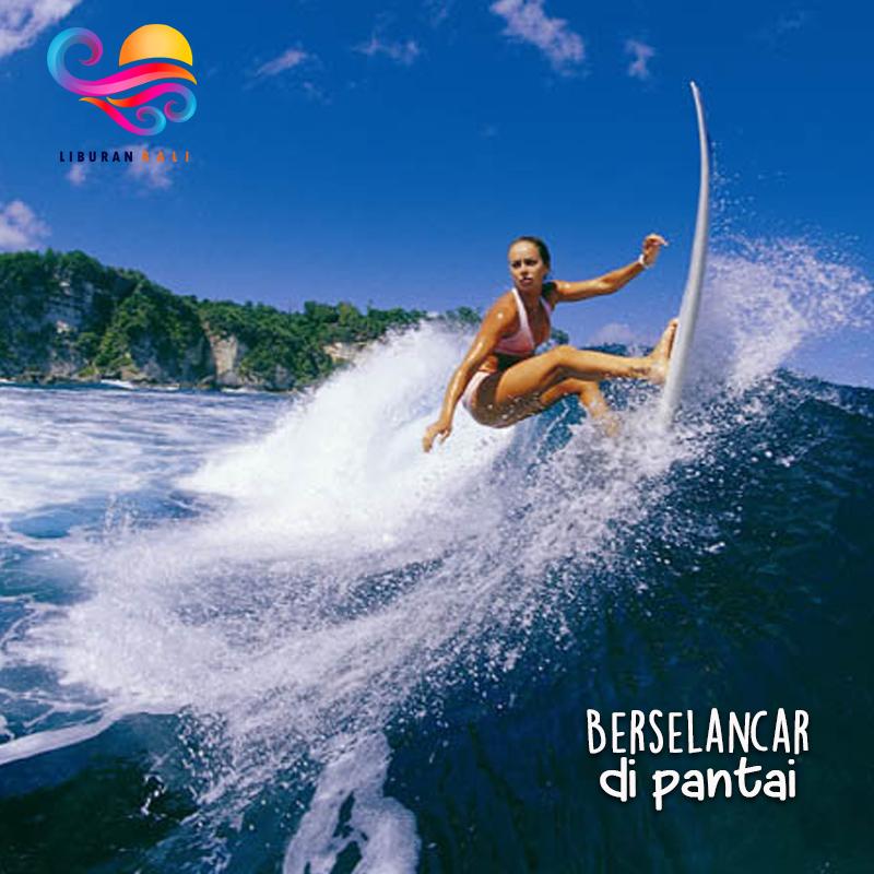 menghabiskan Liburan di Pantai Bali5