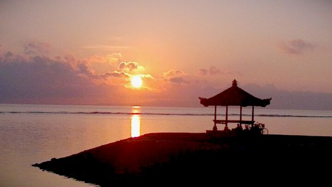 sunrise sanur liburan bali 1