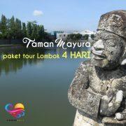 taman mayura paket tour lombok 4 hari