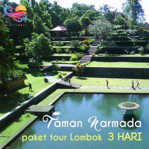 taman narmada paket tour lombok 3 hari