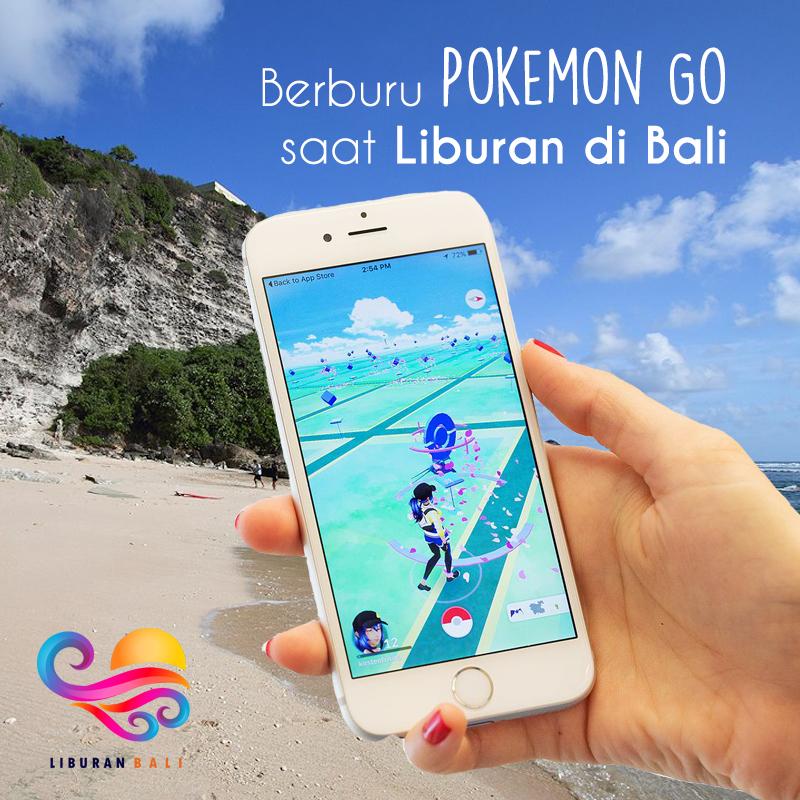 Berburu Pokemon Go Saat Liburan di Bali