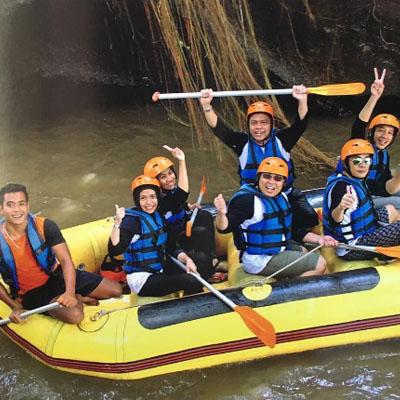 Liburan Tahun Baru Seru di Ayung River