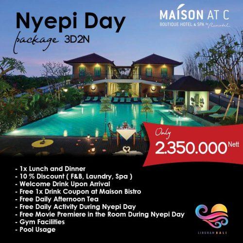 Paket Liburan Nyepi di Bali 3 Hari 2 Malam